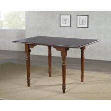 DLU-ADW3448-CT  Drop Leaf Dining Table  Chestnut