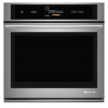 """Jenn-Air® 30"""" Single Wall Oven with V2™ Vertical Dual-Fan Convection System, Euro-Style Stainless Handle"""
