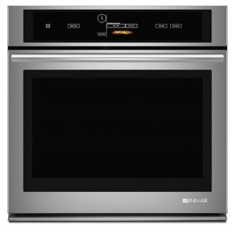 """Jenn-Air™ 30"""" Single Wall Oven with V2™ Vertical Dual-Fan Convection System, Euro-Style Stainless Handle"""