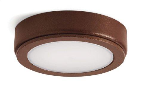4D Series 12V 3000K LED Accent Disc Textured Bronze