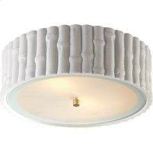Visual Comfort AH4005WHT-FG Alexa Hampton Frank 3 Light 15 inch Plaster White Flush Mount Ceiling Light