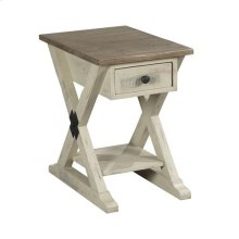 Reclamation Place Trestle Chairside Table