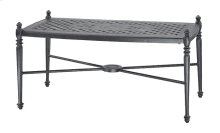 "Grand Terrace 21"" x 42"" Rectangular Coffee Table"