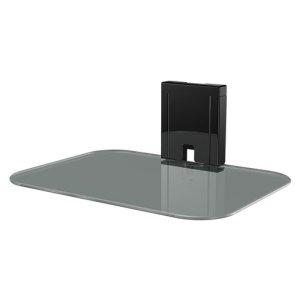 SanusTempered Glass On-Wall AV Component Shelf
