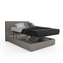 Upholstered storage bed