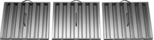 "42"" 600 CFM Internal Blower Stainless Steel Range Hood"