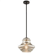 Everly Collection Everly 1 Light Old Bronze (42044OZMER)  Olde Bro
