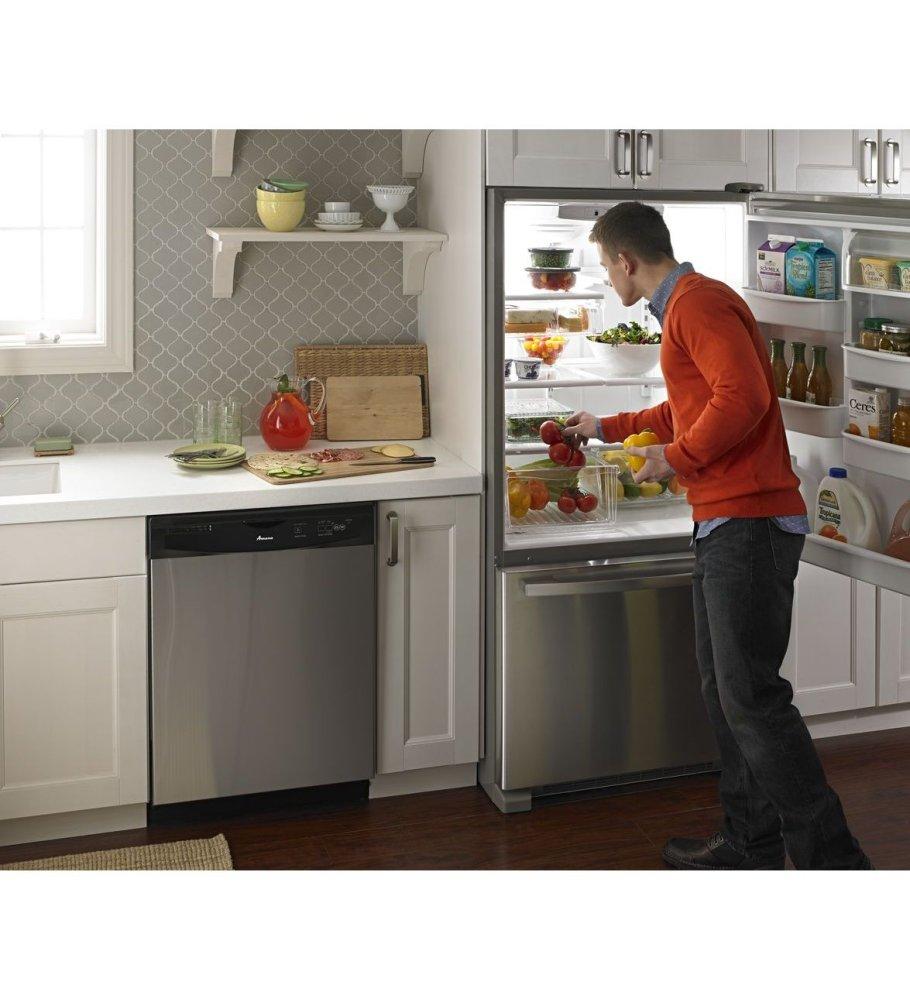 Abb2224brm Amana 33 Inch Wide Bottom Freezer Refrigerator