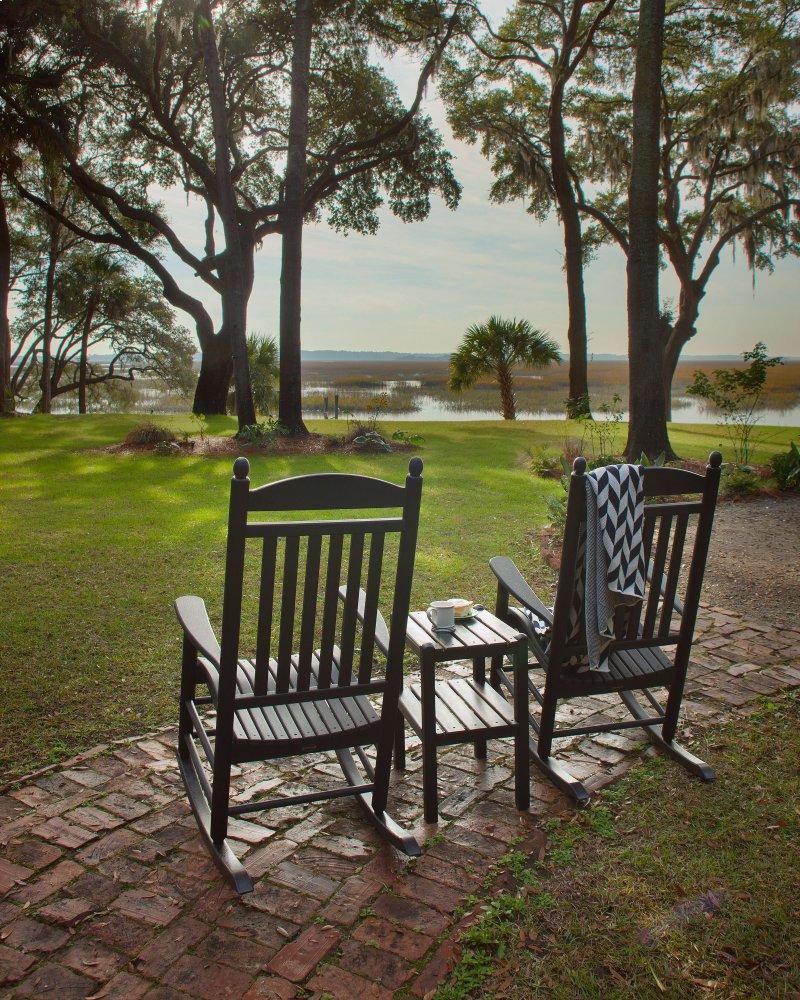 White Jefferson 3 Piece Rocking Chair Set