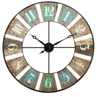 Weathered Wall Clock. Product Image