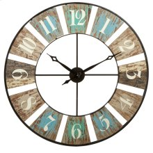 Weathered Wall Clock.