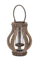 Akiko Small Wooden Lantern Product Image