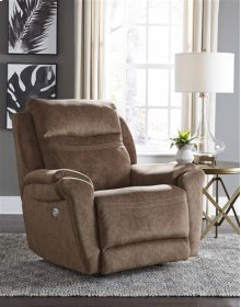 Power Rocker Recliner with Adjustable Headrest and SoCozi Massage Upgrade