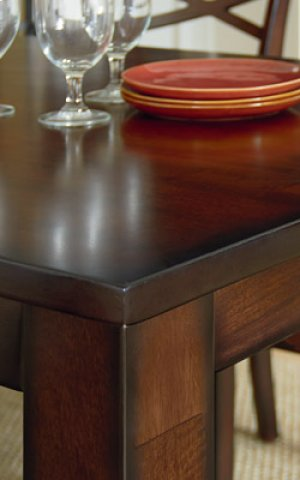 STANDARD 11223 Redondo 5-Piece Counter Height Table & 4 Chairs