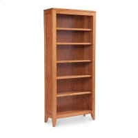 Justine Open Bookcase, 3-Adjustable Shelves Product Image
