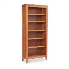 Justine Open Bookcase, 4-Adjustable Shelves