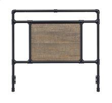 Elkton Headboard - Full, Matte Black Finish
