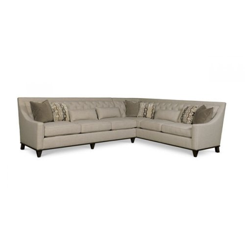 Wythe Coffee Bean Left Arm Facing Sofa, Right Arm Facing Corner Sofa