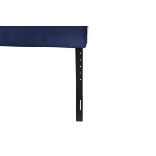 Emerald Home King 6/6 Upholstered Headboard Navy Blue #602 B353-12hb-04