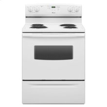30-inch Amana® Electric Range with Self Clean - white