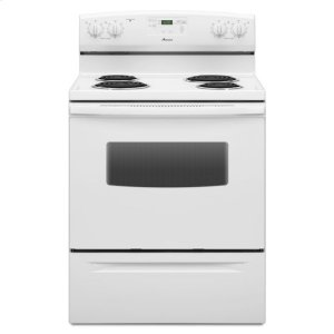 Amana30-inch Amana(R) Electric Range with Self Clean - white