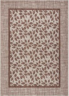 Country Side Ctr01 Natural Rectangle Rug 5'3'' X 7'3''