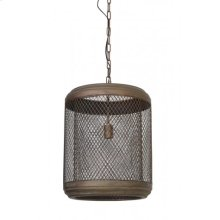 Hanging lamp 41x49 cm LANA antique copper
