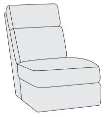 Maddux Armless Chair