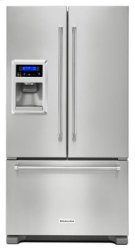 Out of Box Display Model 20 cu. Ft. 36-Inch Width Counter Depth French Door Refrigerator with Exterior Ice and Water - Stainless Steel Product Image