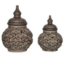 Tanzinia Lidded Urns
