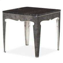 Carson End Table Silver
