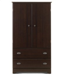 Armoire - 2 Drawer - Fixed Shelf