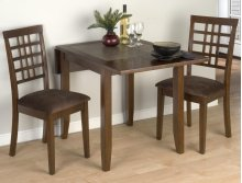 Kura Canyon Table & Grid Back Chairs
