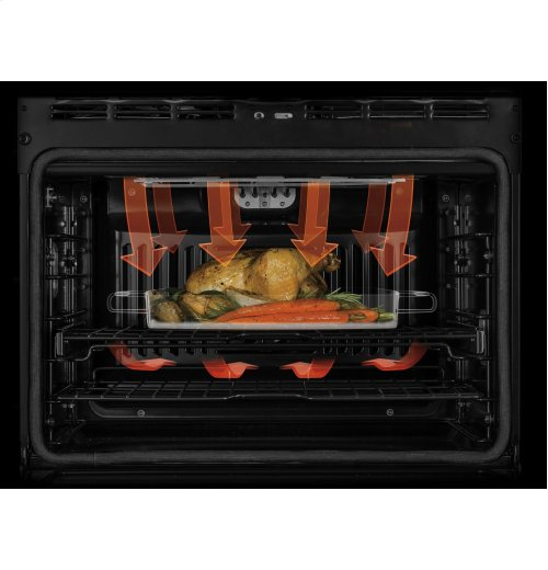 """GE Café Series 30"""" Built-In Double Convection Wall Oven"""