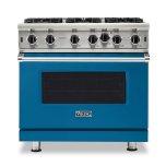 "Viking36"" Open Burner Gas Range - VGIC5362 Viking Professional Product Line"