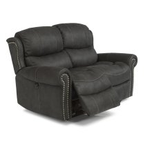Walden Fabric Power Reclining Loveseat