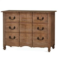 Provence 3 Drawer Dresser Large