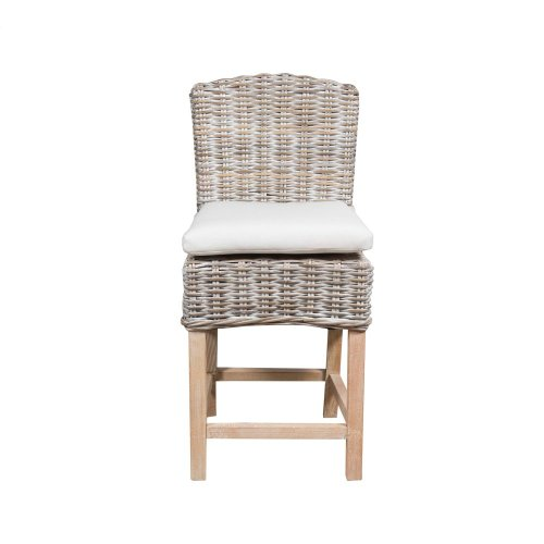 24'' Bar Stool, Available in Washed Texture Finish Only.