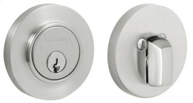 Satin Chrome Contemporary Deadbolt