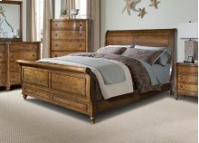 Cape Cod Hanover Sleigh Bed 5/0 Queen
