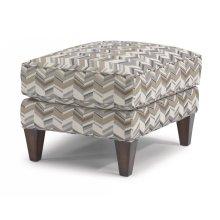 Venture Fabric Ottoman