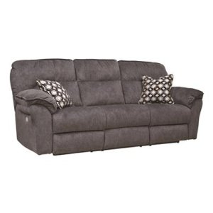 Double Reclining Power Headrest Sofa