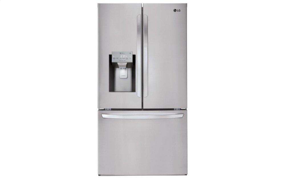 LG Appliances22 Cu. Ft. Smart Wi-Fi Enabled French Door Counter-Depth Refrigerator