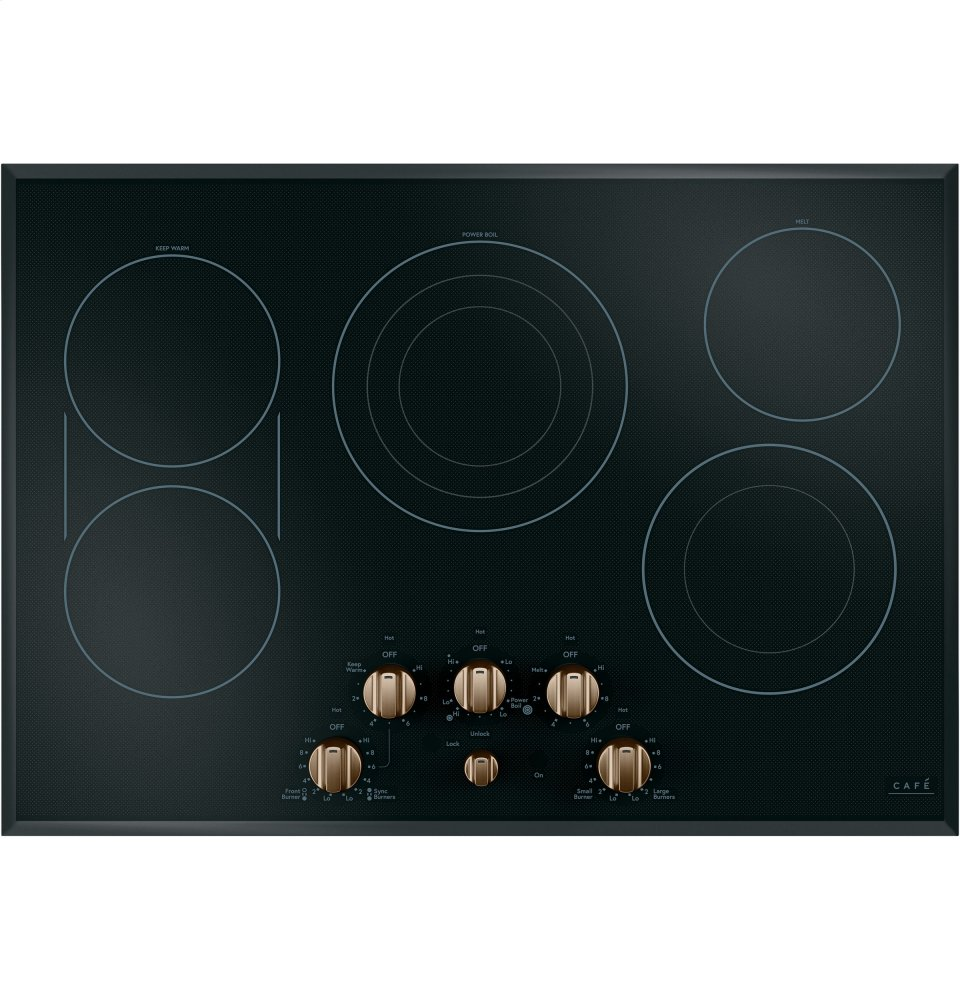 "Caf(eback) 30"" Built-In Knob Control Electric Cooktop