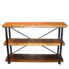 Rustic Pine 3 Tiered Bookcase