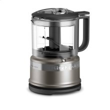 KitchenAid® 3.5 Cup Mini Food Processor - Cocoa Silver