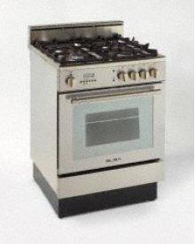 """Model DGE2403SC - 24"""" Dual Fuel Range SSteel"""