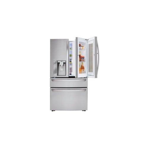 SCRATCH & DENT- 23 cu. ft. Smart wi-fi Enabled InstaView Door-in-Door® Refrigerator