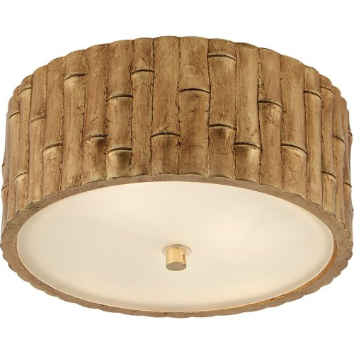 Visual Comfort AH4004G-FG Alexa Hampton Frank 2 Light 11 inch Gild Flush Mount Ceiling Light