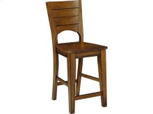 Canyon Full Stool in Pecan